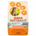 Iams Naturally Kat Adult North Atlantic Zalm & Rijst