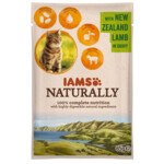 Iams Naturally Kat Adult New Sealand Lam in Saus