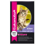 Eukanuba Kat Kitten - Junior Kip - Lever