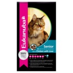 Eukanuba Kat Top Condition 7+ Senior Kip - Lever