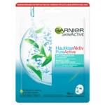 Garnier Pure Active Tea Tree Sheet Gezichtsmasker tegen Onzuiverheden
