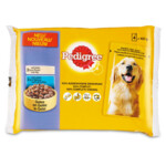 Pedigree Pouch Kip  Lam In Gelei 4pack