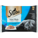 Sheba Delice Pouch Vis Selectie Multipack