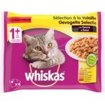Whiskas Pouch Adult Gevogelte In Saus Multipack