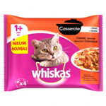 13x Whiskas Casserole Adult Classic Selectie In Gelei Multipack