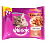 13x Whiskas Casserole Senior Classic Selectie Multipack
