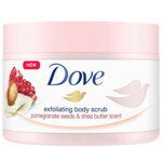 Dove Body Scrub Pomegranate & Shea butter