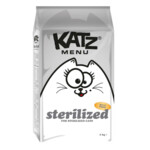 Katz Menu Sterilized