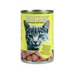 Rokus Kattenvoer Blik Vleesbrokjes