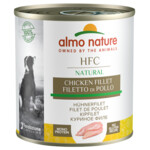 12x Almo Nature Classic Hond Kipfilet