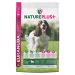 Eukanuba NaturePlus+ Hondenvoer Adult Medium Lam