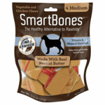 Smartbones Peanut Butter Medium