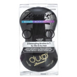 Zenner Duoo 2-in-1 Anti-Klit Haarborstel Zwart