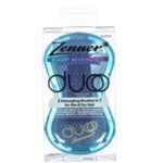 Zenner Duoo 2-in-1 Anti-Klit Haarborstel Blauw