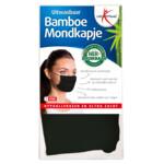 Lucovitaal Bamboe Mondkapje Zwart
