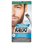 Just for Men Snor en Baard Haarkleuring Donkerbruin