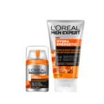 L'Oréal Men Expert Hydra Energetic Dagcrème en Face Wash Pakket Pakket