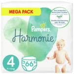 Pampers Harmonie Luiers Maat 4 (9-14kg)