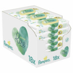 Pampers Billendoekjes Pure Protection Coconut Navulpak