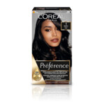 L'Oréal Preference Haarkleuring  01 Napoli - Zwart