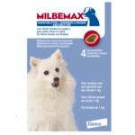 Milbemax Ontworming Kauwtablet Kleine Hond en Puppy