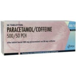 Pharmachemie Paracetamol Coffeine 500 mg / 50 mg