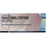 Pharmachemie Paracetamol Coffeine 500 mg / 50 mg  20 tabletten