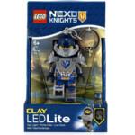 Lego Sleutelhanger met LED Licht Nexo Knights Clay