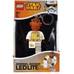 Lego Sleutelhanger met LED Licht Star Wars Admiral Ackbar