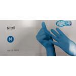 Wibu + Handschoenen Nitril Blauw M