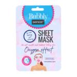 Sence Facial Bubble Sheet Masker Perzik