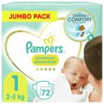 3x Pampers Premium Protection Luiers Maat 1 (2-5kg)