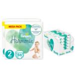 Pampers Harmonie maandbox maat 2 172 luiers en Aqua Pure 864 billendoekjes Pakket