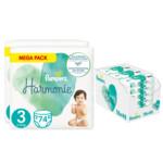Pampers Harmonie maandbox maat 3 148 luiers en Aqua Pure 864 billendoekjes Pakket