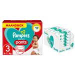 Pampers Baby-Dry Pants maandbox maat 3 180 luierbroekjes en Aqua Pure 864 billendoekjes Pakket