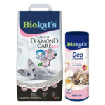 Biokat's Diamond Care Fresh & Deo Pearls Babypoeder Pakket