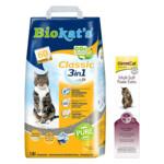 Biokat's Classic & GimCat Malt-soft Extra Haarbalpasta Pakket