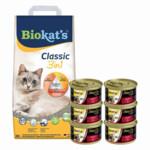 Biokat's Classic & GimCat ShinyCat in Jelly Kip Pakket