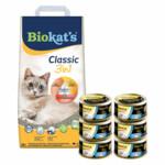 Biokat's Classic & GimCat ShinyCat Filet Tonijn Pakket