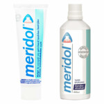 Meridol Tandvlees Tandpasta en Mondspoeling Pakket
