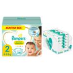 Pampers Premium Protection maat 2 240 luiers en Aqua Pure 864 billendoekjes Pakket