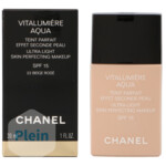 Chanel Vitalumiere Aqua Ultra-Light SPF15 22 Beige Rose