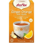 Yogi tea Ginger, Orange, Vanilla Biologisch