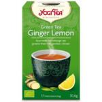 Yogi tea Green Tea Ginger Lemon Biologisch