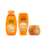 Garnier Loving Blends Argan & Camelia Shampoo, conditioner, Haarmasker Pakket