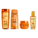 L'Oréal Elvive Extraordinary Oil Shampoo, conditioner, Haarmasker & oil Pakket