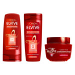 L'Oréal Elvive Color Vive Shampoo, Conditioner en Haarmasker Pakket