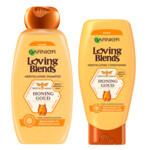 Garnier Loving Blends Honing Goud Shampoo & Conditioner Pakket
