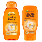 Garnier Loving Blends Argan & Camelia Shampoo & Conditioner Pakket