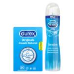 Durex Condooms en Glijmiddel Pakket